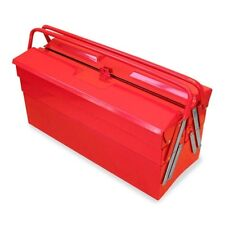 Excel 5 Compartment Cantilever Tool Box TB122B-RED Tool Box NEW
