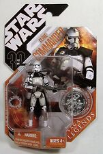 CLONE COMMANDER STAR WARS SAGA LEGENDS 30th ANNIVERSARY SILVER COIN FIGURE MOSC