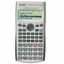 CASIO FC-100V Financial Calculator FC100V /GENUINE and ORIGINAL Packing
