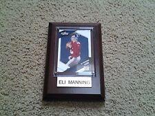Eli Manning Plaque