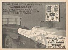 Z1441 Raddrizzatori di corrente L. ROSENGART - Pubblicità d'epoca - 1928 Old ad
