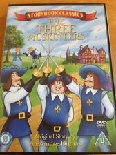 Storybook Classics - The Three Musketeers (DVD, 2006)