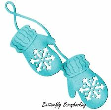 SNOW MITTENS Elites Die Craft Steel Die Cutting Die Cottage Cutz CCE-083 New