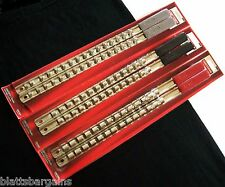 "6 CRAFTSMAN SOCKET RACK RAILS ""MADE IN THE USA"" HOLDS 88 SOCKETS 1/4 3/8 1/2"