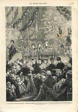 DISTRIBUTION CADEAUX ARBRE DE NOEL ALSACE LORRAINE OCCUPÉES   1873