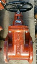 "M&H Valve 6"" A.W.W.A C-509 Resilient Wedge Gate Valve Flange Joint"