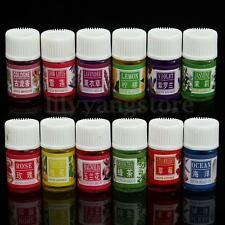 12Pcs Aromatherapy Oil Gift Set 3ml Pure Relax Therapeutic Plant Essential Oils