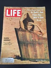 Vintage July 8, 1966 LIFE Back Issue Magazine - Claudia Cardinale