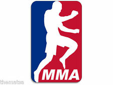 "MMA FIGHTER 5"" MLB HELMET CAR TOOLBOX BUMPER DECAL STICKER MADE IN USA"