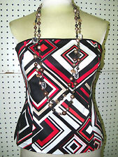 WHITE HOUSE BLACK MARKET sz 6 -- BOLD DIAMOND BUSTIER--NWT--GORGEOUS--VERSATILE