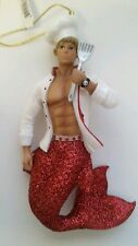 December Diamonds Catch of the Day Cook Chef Christmas Ornament New Gay Merman