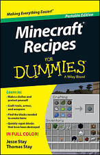 Minecraft Recipes For Dummies by Thomas Stay, Jesse Stay (Paperback, 2014)
