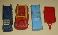 "Tootsietoy 3""-4"" Vehicle Lot Chrysler Convertible Farm Trailer Pickup Truck"
