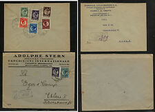 Romania  2  registered   covers            MS0221
