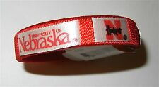 NCAA Nebraska Cornhuskers Spirit Bracelet by Game Day Outfitters, Red