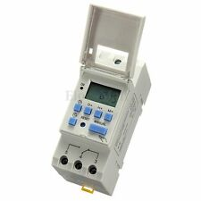 DC 12V 16A Minuterie LCD Digital Programmable Timer Relais Power Interrupteur