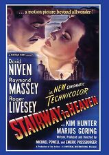 "STAIRWAY TO HEAVEN - 1946 DVD - David Niven (aka: ""A Matter of Life and Death"")"