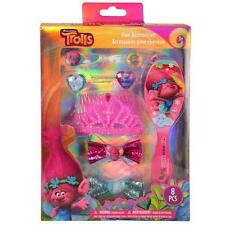 Dreamworks Trolls 8 PCS Hair Accessories Gift Set Licensed Authentic NEW