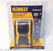 DeWalt DCR006 NEW 12V/20V Cordless Jobsite Bluetooth Speaker DC/AC USB Port NIB
