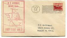FFC 1954 First Flight AM 77 McCall Idaho USA Akron Ohio US Air Mail