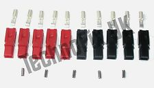 Anderson Powerpole connectors, 5 sets red/black, ideal for DC power