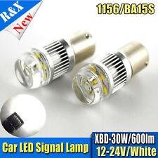 2X 12-24V DC CREE 30W 1156 S25 P21W BA15S LED Backup Light Car Reversing Bulb