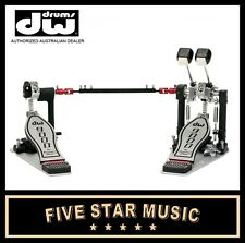 DW 9000 SERIES HARDWARE DOUBLE BASS DRUM KICK PEDAL WITH HARDCASE - DWCP9002PC