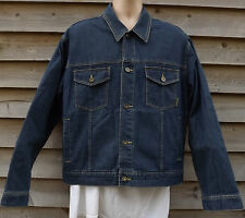 Timberland Traditional Denim Bomber Weathergear Jacket - L - c2002