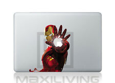 "Hülle Case Aufkleber Sticker Schutzfolie Apple Macbook 11"" Iron Man 1"