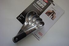 New OXO Good Grips Stainless Steel Magnetic Set of Four Measuring Spoons