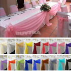 Table Swags Sheer Organza Fabric DIY Wedding Party Bow Decorations Cool