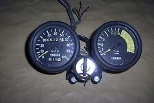 1969-73 yamaha dt1 rt1 dt rt Ahrma speedometer tachometer gauge ignition switch