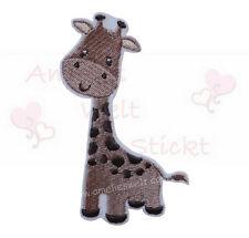Giraffe Applikation Aufbügler Aufnäher zum aufbügeln stickapplikation bügelbild