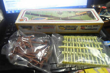 BACHMANN HO SCALE 36 SIGNS AND TELEPHONE POLES 24 SIGNS 12 POLES SEALED IN BAGS
