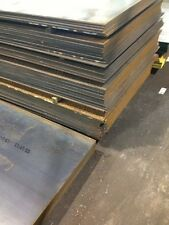 """16 GA .0598 Steel Plate 4"""" x 8"""" Flat Sheet 16 Gauge Steel"""