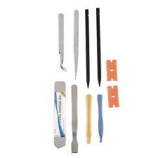 Hot 10Pcs Repair Opening Pry Tool Set Spudger Tweezer Blade Kit for iPhone SY