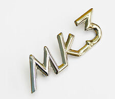 "Triumph Chrome ""Mk3"" Mk III Script Badge for Triumph Spitfire, 621467"