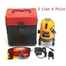 Shockproof Automatic Self Leveling 5 Line 6 Point 4V1H Laser Level Measure