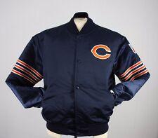 VTG 80s Large Starter Proline Chicago Bears Football Satin Jacket Coat