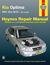 Haynes 54050 Repair Manual Kia Optima 2001 - 2010