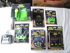 Space Invaders Ultimate Fan KIT Key Finder-SET Coasters+More-(8 items)Brand NEW