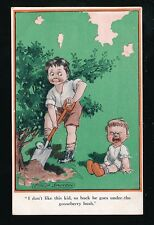 Artist FRED SPURGIN Children Baby Comic Kiddoo Inter-Art #379 PPC Unused