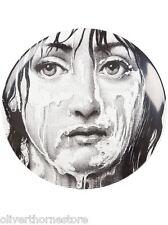 Magnificent Rare Fornasetti Lina Wet Face PLATE Piero Fornasetti NIB