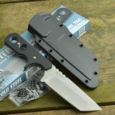 Cold Steel Mini Tac Tanto Plain Edge Fixed Blade Neck Knife 49HTF
