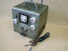 DDR Batterieladegerät 6V 12V Ladegerät, Gleichrichter, NVA Koffer Robur LO W50