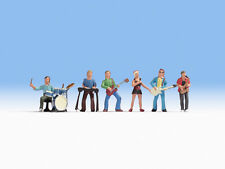 NOCH N Scale 36839 Music Band Members SCALE FIGURES & ACCESSORIES SET OF 6