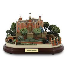 Disney Haunted Mansion Miniature with 3 scenes Figurine by Olszewski new