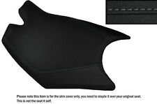 DESIGN 3 GRIP VINYL GREY STITCH CUSTOM FITS KTM RC8 FRONT RIDER SEAT COVER