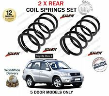 FOR TOYOTA RAV4 2.0 VVTI  2.0TD D4D 5 DOOR 2000-2005 NEW 2X REAR COIL SPRING SET