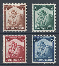 Germany Sc 448-451 MNH. 1935 Return of the Saar to Germany, cplt set, F-VF